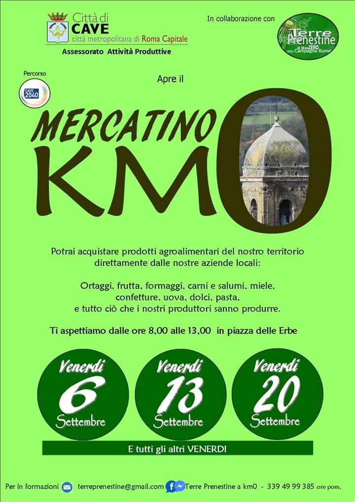 Apre il mercatino KM 0