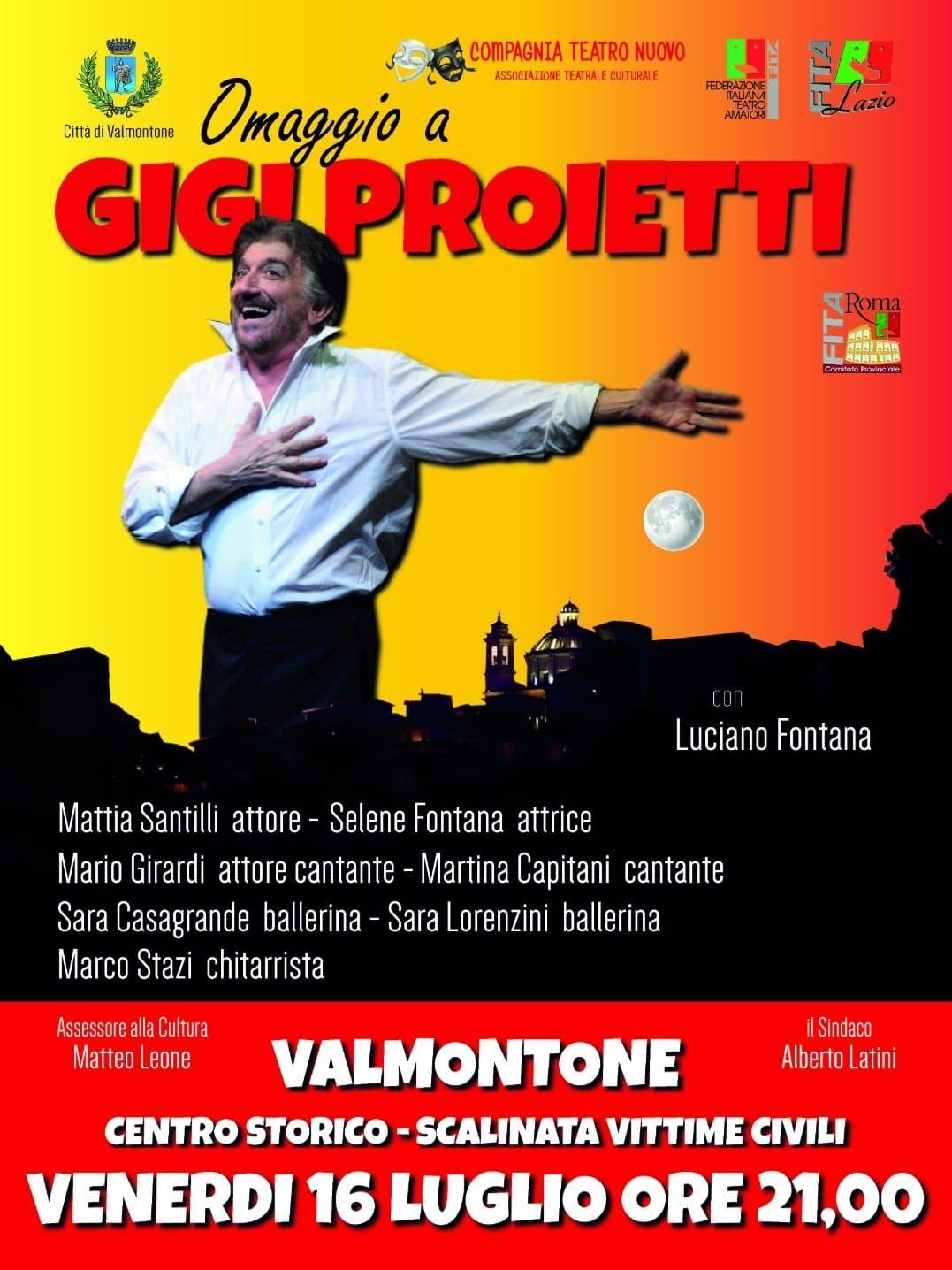 Teatro e musica a Valmontone