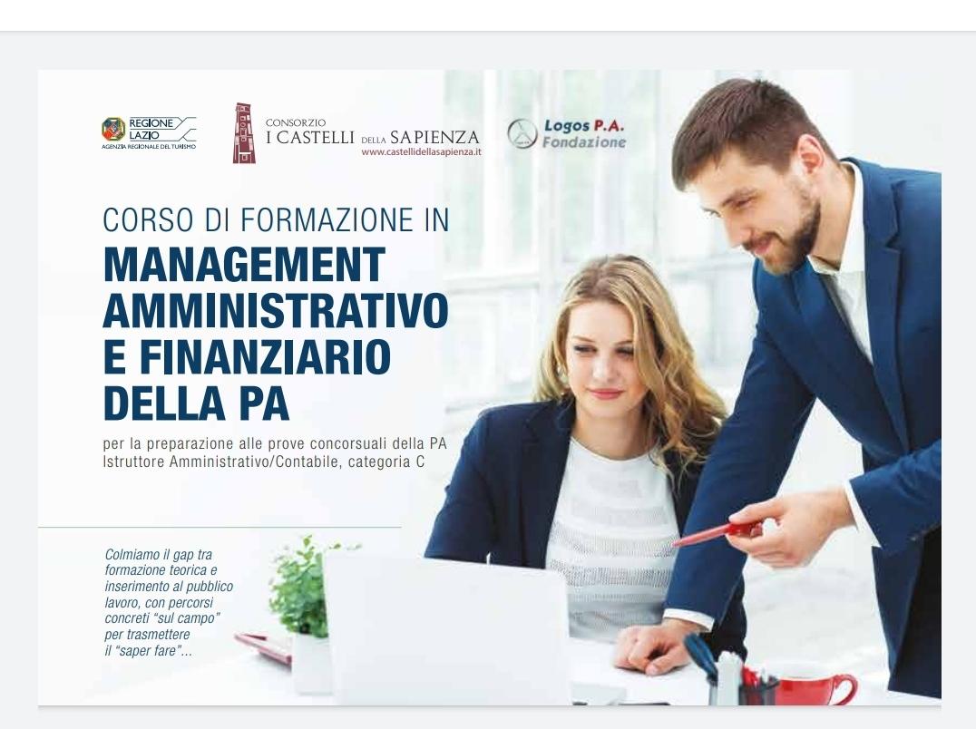 Corso di Formazione in Management Amministrativo e Finanziario della PA