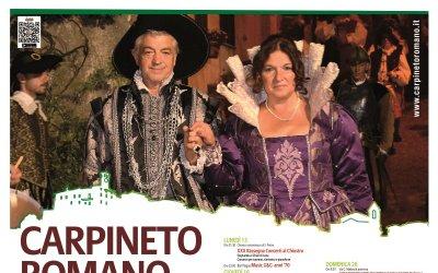 Estate a Carpineto Romano 2018 - Festa di S. Agostino