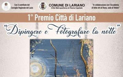 Primo Premio Città di Lariano - Dipingere e fotografare la notte