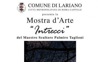 """""""Intrecci"""": la mostra del Maestro Palmiro Taglioni"""