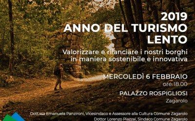2019 Anno del Turismo Lento
