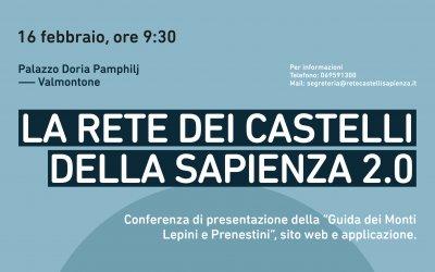 Presentazione della Guida della Rete dei Castelli della Sapienza, Monti Lepini e Prenestini