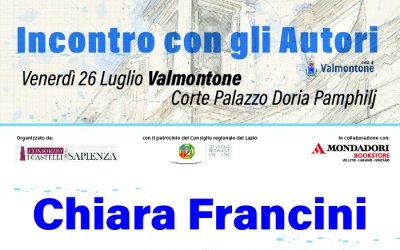 Incontro con gli autori - Chiara Francini