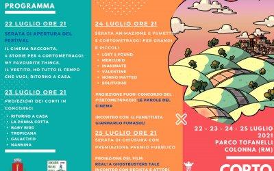 COLONNART 2021: CORTO COLONNA FILM FESTIVAL