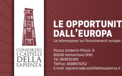 Corso Webinar - 29 e 30 giugno 2020 - Introduzione alle opportunità di agevolazione di programmi europei