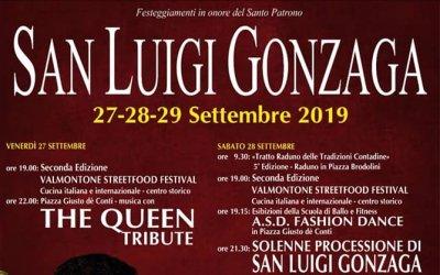 Festeggiamenti del Santo Patrono San Luigi Gonzaga