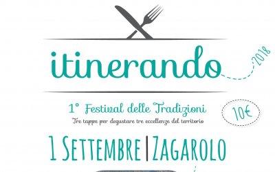 Itinerando, il 1° Festival delle tradizioni gastronomiche